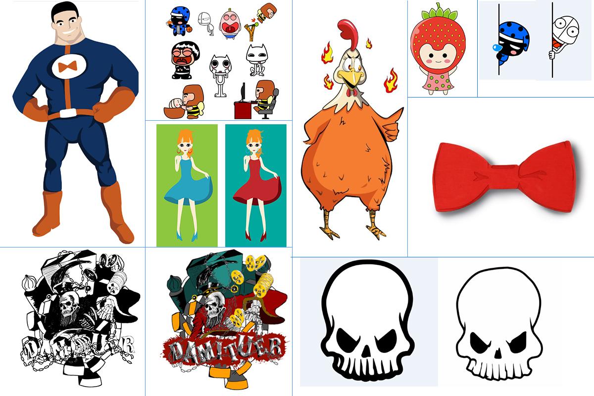 卡通形象平面設計