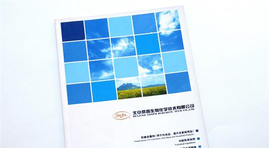 桑普生化产品宣传册设计