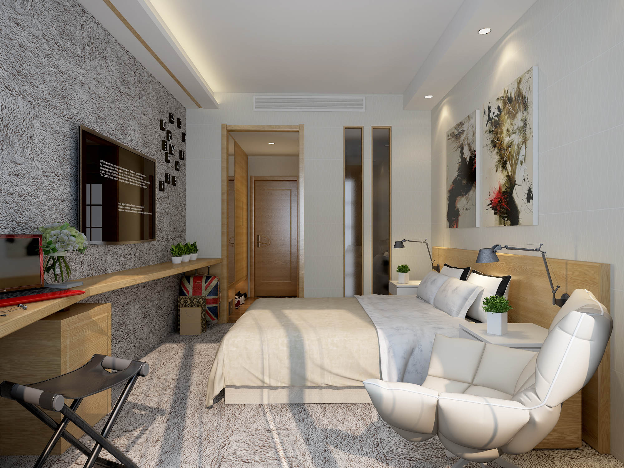 月亮湾大酒店客房设计