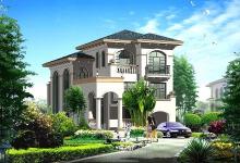 欧式风格框架别墅