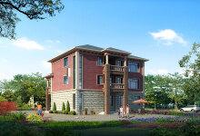 三层城郊别墅设计