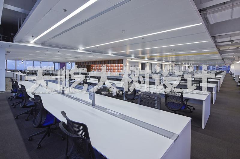 现代工业风----极简主义办公室案例