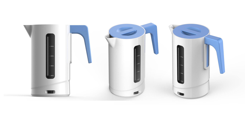 塑料電熱水壺