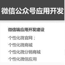 威客服务:[68398] 微信公众号应用开发