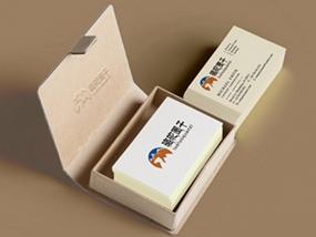 骆驼圈子旅游公司商标跟名片设计