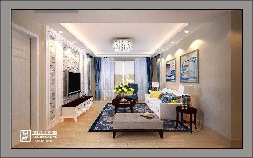 现代美式家庭装修