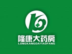 武汉隆康大药房LOGO及店招形象设计