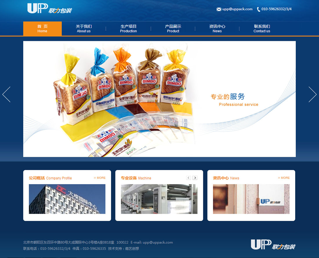 网站设计案例