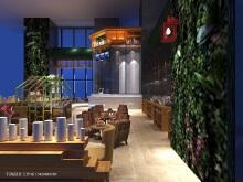威客服务:[74360] 餐饮空间设计