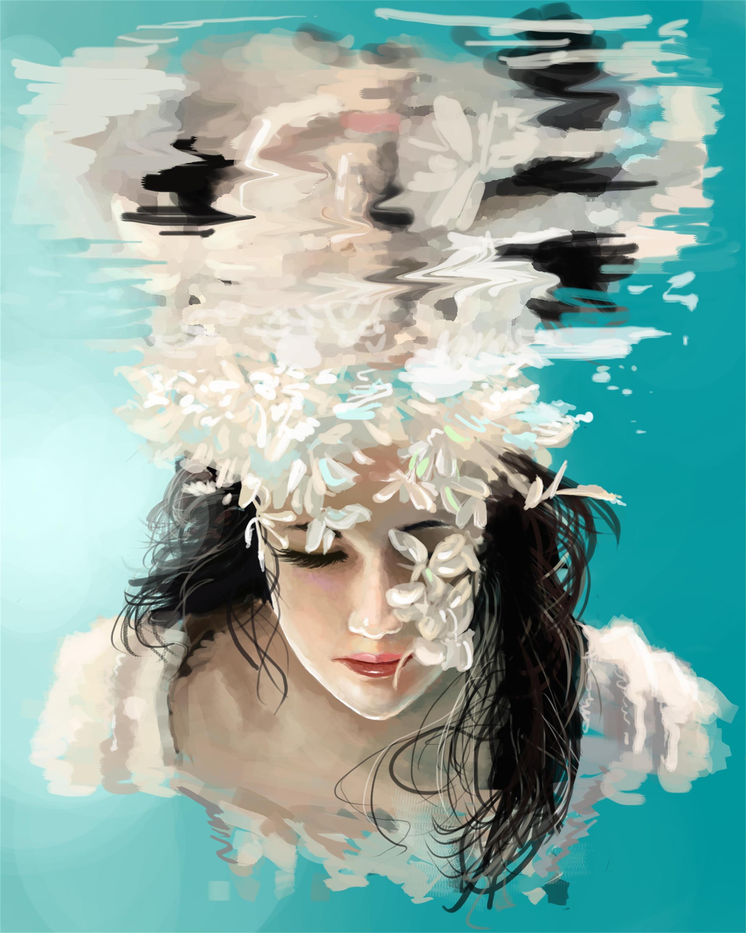 水下人物设计