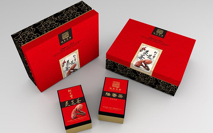 茶月饼高档食品包装 铁罐/高档礼盒工艺盒/手提袋整套包装设计