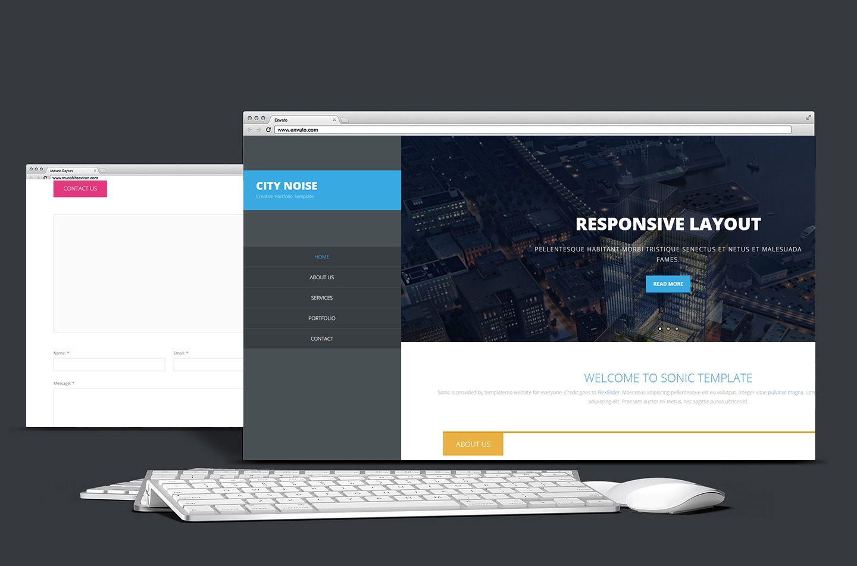 City城市家装网站设计