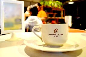 菲林咖啡效果图