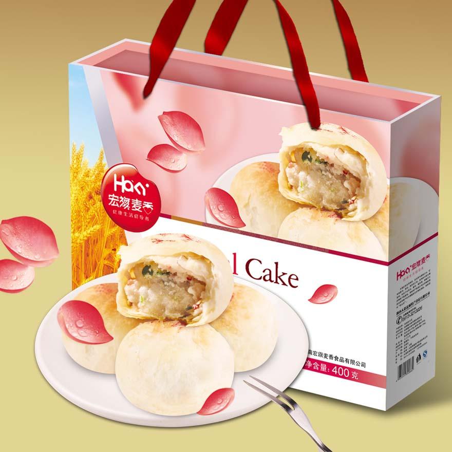 食品類禮盒-月餅包裝設計
