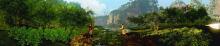 崀山风景区360度立体环幕
