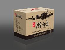 陕西特色食品包装——擀面皮