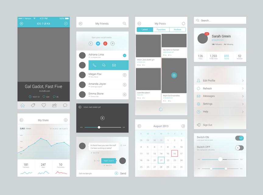 iOS UI设计技巧,最实用的iOS UI设计技巧