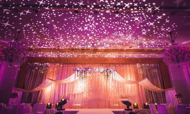 蓝色主题婚礼策划流程,浪漫的婚礼是怎么举行的