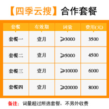 威客服务:[80531] 四季云搜V3介绍(全站营销-整合营销)