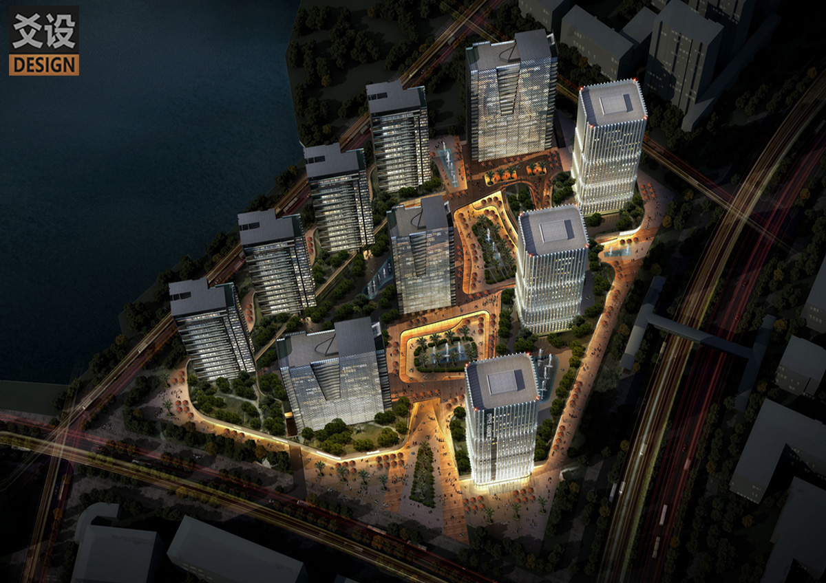 科技園建筑規劃設計