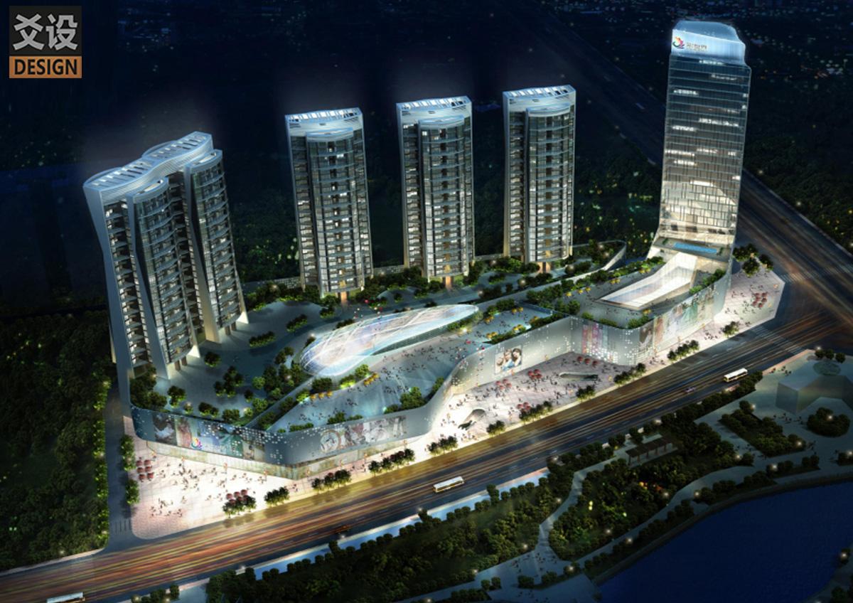 商住綜合體建筑規劃設計