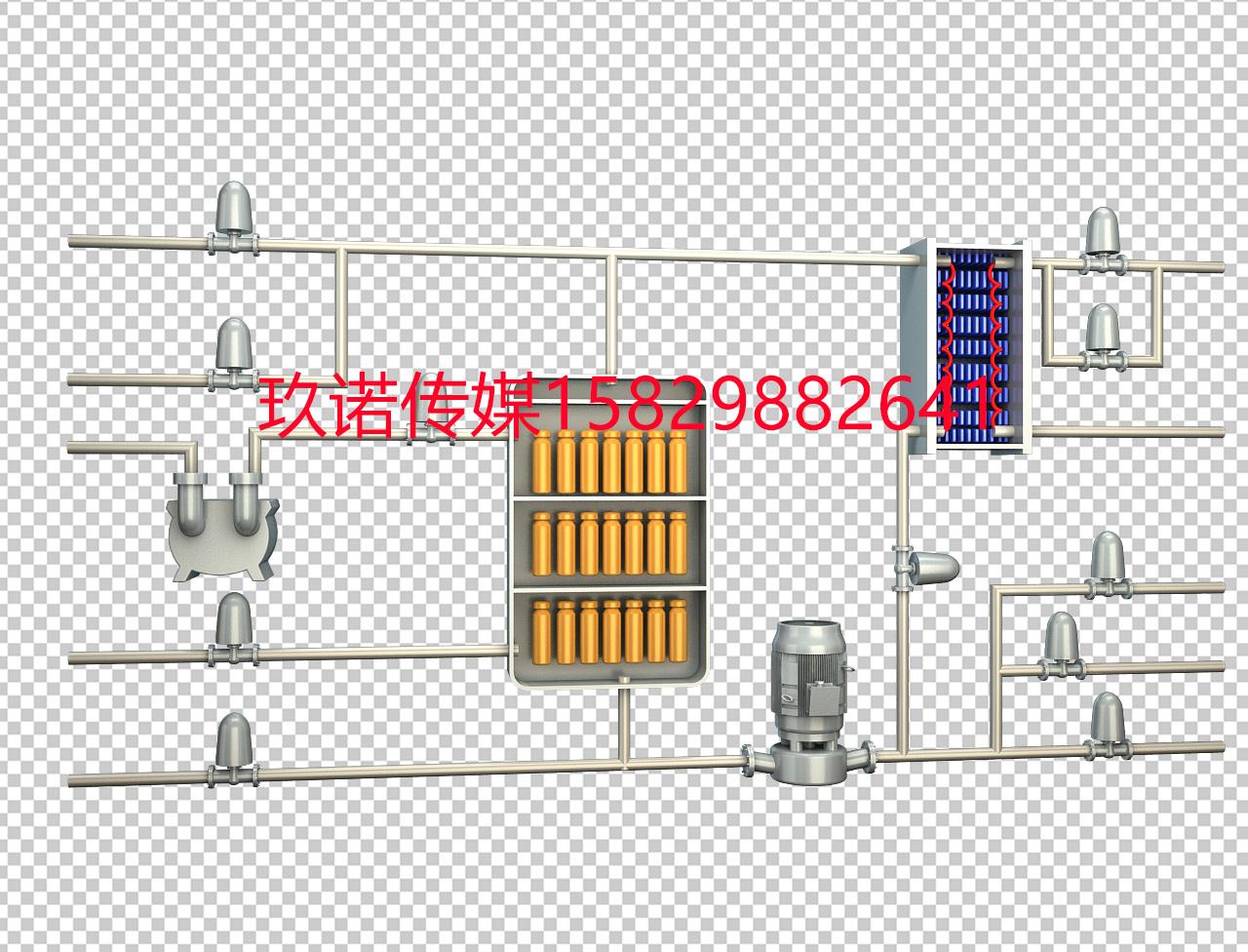 工業流程圖