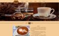 休闲咖啡屋网站建设