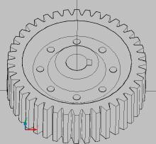 CAD零件图
