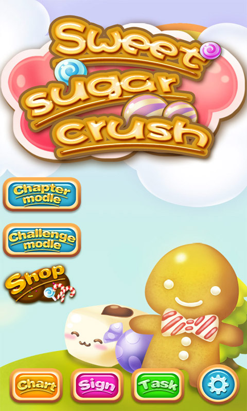 Sweet Sugar Crush(休闲手游)