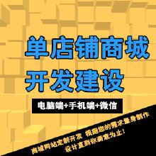 威客服务:[83645] 高端定制单店铺商城网站 PC+手机+微信(三网合一)