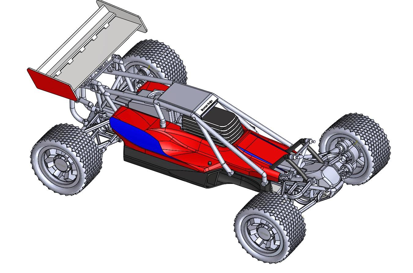 Baja模型车