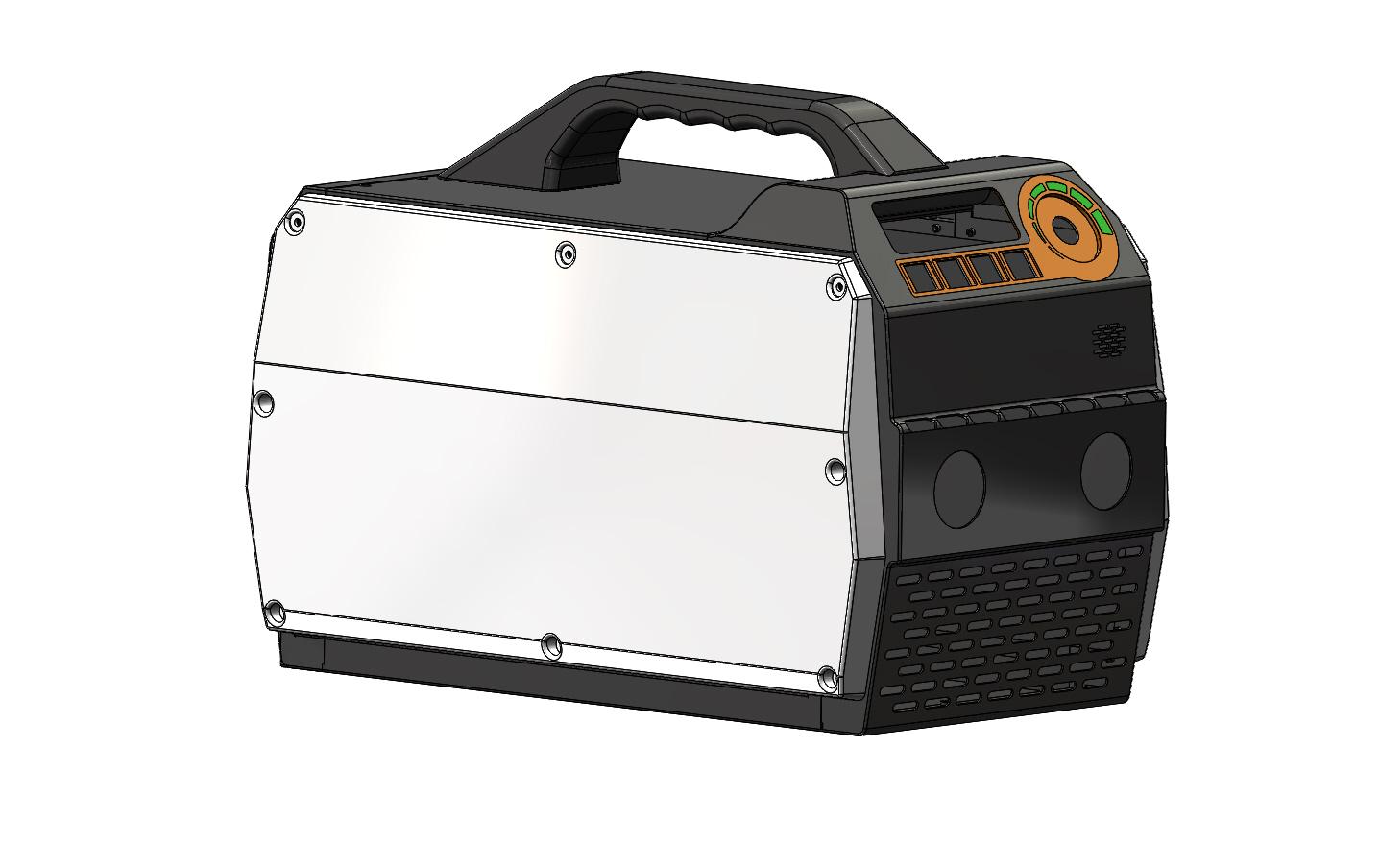纤维素焊机外观设计