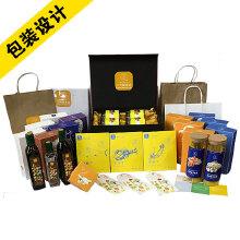 包装设计、产品包装、礼盒纸袋、高档纸盒、标签、包装袋设计