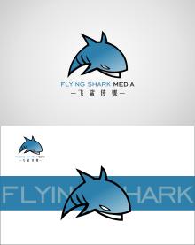 飞鲨传媒 LOGO设计