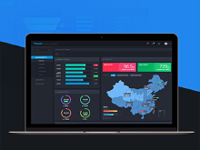 dashboard仪表盘-可视化数据界面