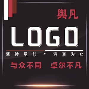 LOGO设计原创卡通logo设计标志网站企业商标设计满意为止