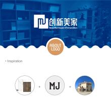 创新美家logo设计方案1