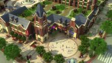 建筑漫游动画建筑表现