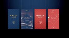 哈里伯爵品牌设计,logo设计