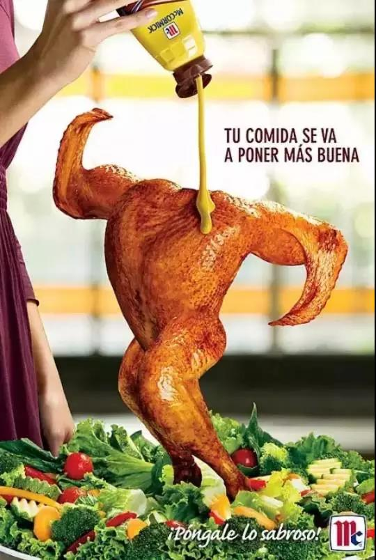 新一波国外食品海报设计案例,看完感觉很饿是怎么回事