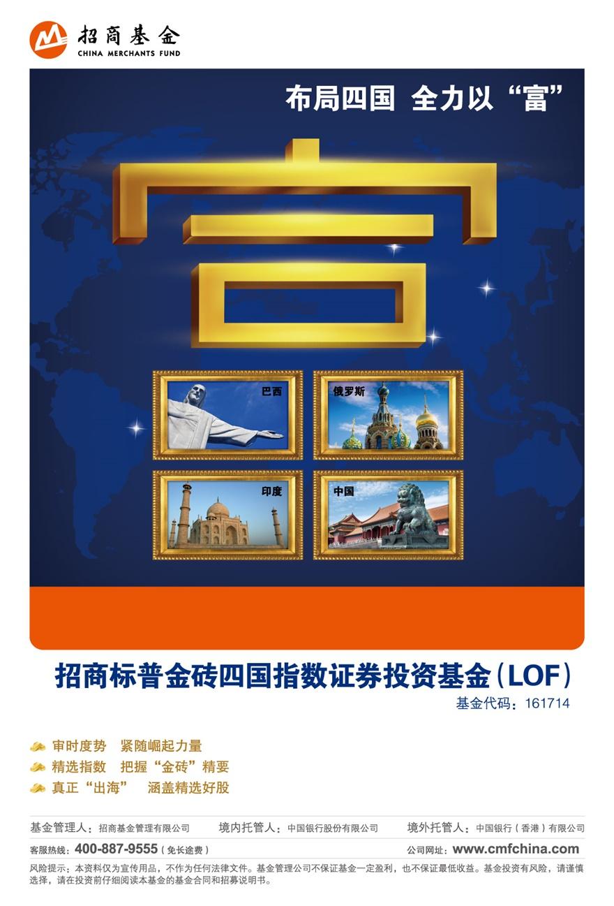 招商基金产品海报设计-金融行业