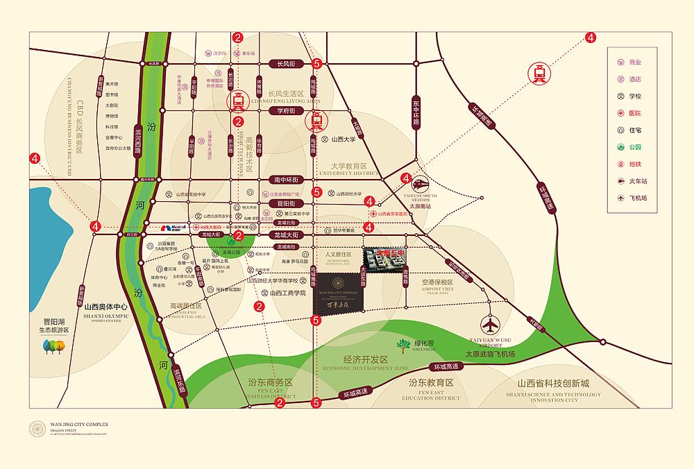 地產生活機能圖設計