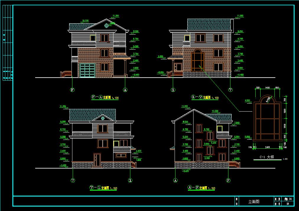 农村住宅建筑设计图