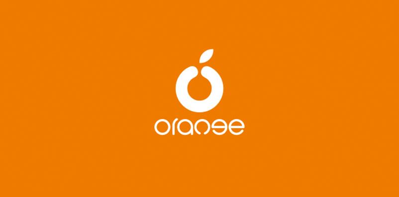 "orange""桔子便利店"" LOGO设计"