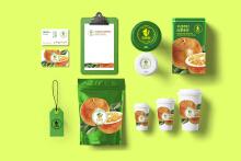 优果仓水果店连锁品牌VI设计
