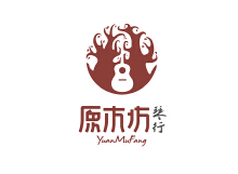 吉他培训基地logo-宣传品设计