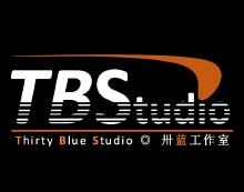 卅蓝工作室logo