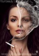 禁烟公益海报设计欣赏