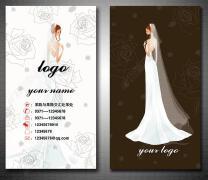 婚礼化妆师名片设计案例欣赏