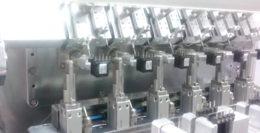 焊锡自动绕线工作站